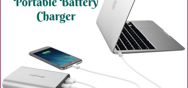 Chargeur portable myCharge RazorPlatinum #Review #myCharge