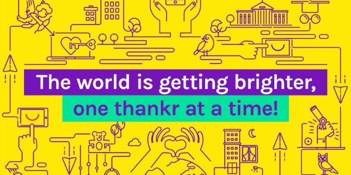 Merci- La meilleure application vidéo de remerciement pour rendre les remerciements plus faciles ! #ad #ThankrTime