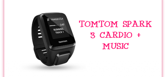 Get Fit with the Spark 3 TomTom Sports GPS Watch #ChristmasMDR16