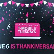 Ne manquez pas le #Thankiversary of T-Mobile de T-Mobile le mardi ! #ad
