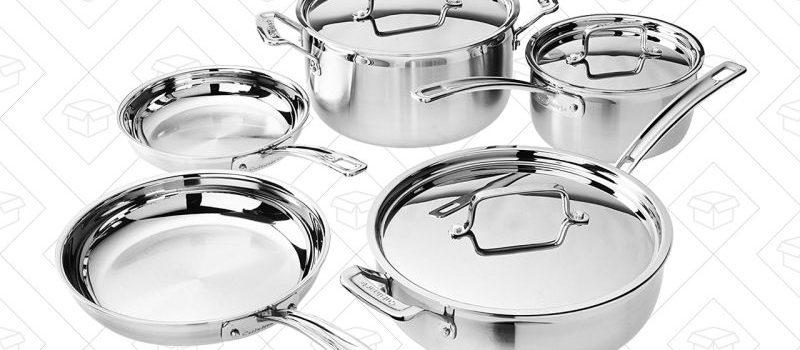 Vous pouvez vous procurer des ustensiles de cuisine All-Clad à des prix incroyablement bas dès maintenant.