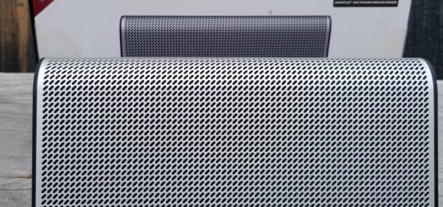 Vous aimez la musique ?  Obtenez le meilleur son avec le haut-parleur sans fil Vizio Crave GO ! #ad #MegaChristmas17