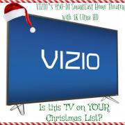 Le SmartCast M50-D1 de VIZIO – Est-il sur VOTRE liste de Noël ? #ChristmasMDR16 #ad