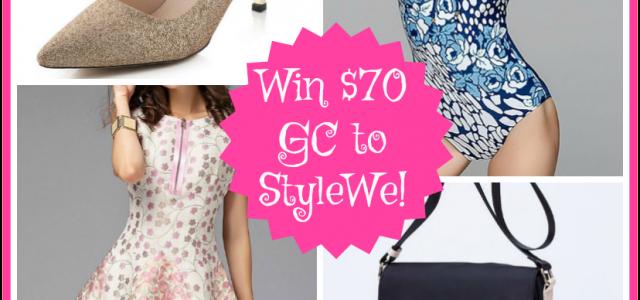 Stylewe Giveaway – Gagnez 70 $ de code cadeau ! se termine 4/28 #FashionPassion