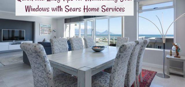 Conseils simples et rapides pour l'entretien de vos fenêtres avec les Services à domicile Sears